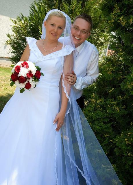 Svadobné šaty napredaj, 44