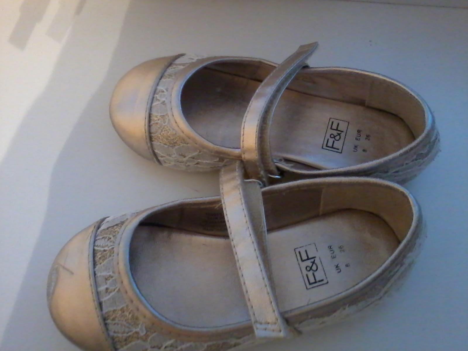 26f7da843 Zlaté balerínky s poštovným, 26 - 4 €   Svadobný bazár   Mojasvadba ...