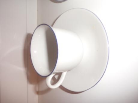 5x šálka s tanierikom,