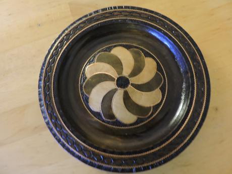 Drevený tanier,