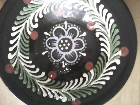 Maľovaný tanier,