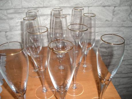 Sada pohárov na šampanské 6 ks,