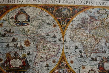 Obraz z puzzle - Historická mapa,