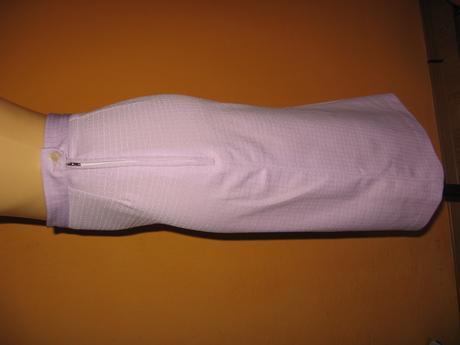 jemne fialova suknicka, XS