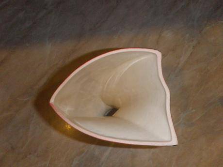 Váza + miska, nepoužívané,