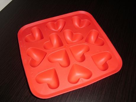 srdiečková forma využitá na ľad,