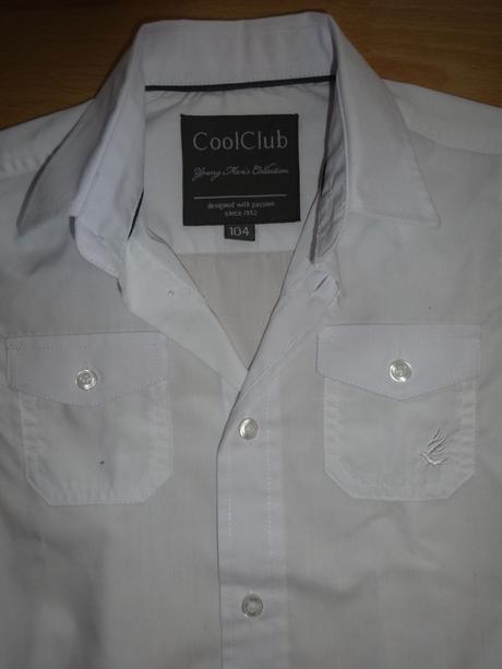 Košile pro chlapce zn. CoolClub, 104