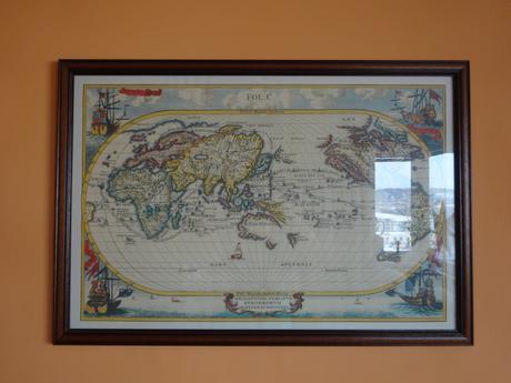 Obraz - historická mapa (replika),