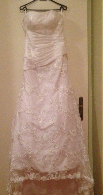 svatební šaty 38-42vel., 38
