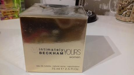 Beckham intimately yours 75ml woman,