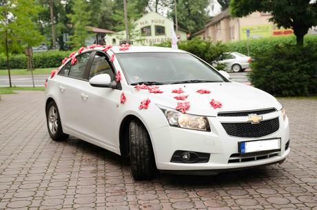 Květiny na auto,