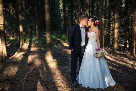 moje svatební šaty, celé z krajky, 38