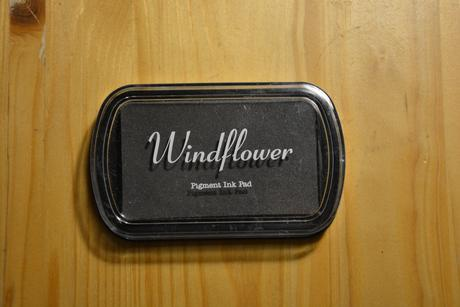 Razítkovací polštářek Windflower,