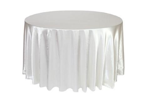 Banketové stoly (160cm priemer) pre 8-10 ludí,