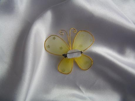 Motýl na zavíracím špendlíku ,