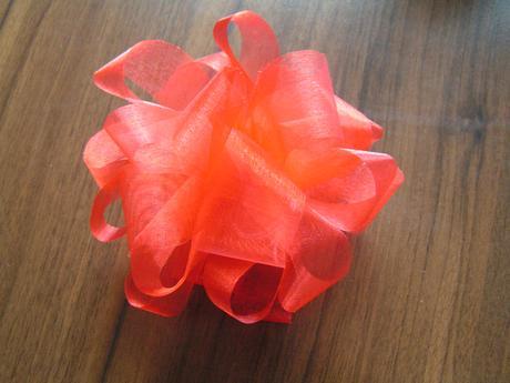 Organzové květy - různé barvy,