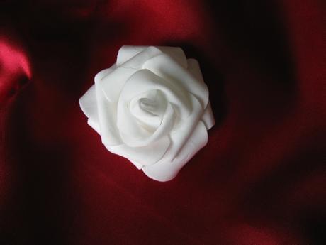 Pěnové hlavičky růží - cca 6 cm,