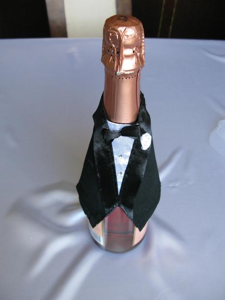 Sada oblečení pro šampaňské,
