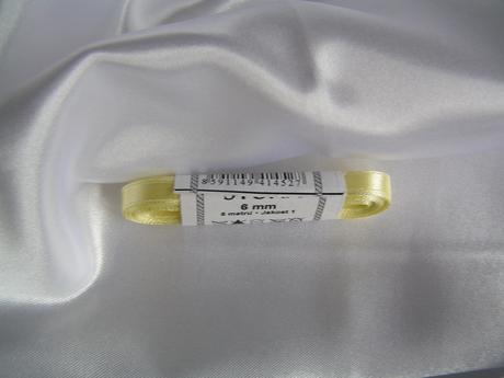 Saténová stuha 6 mm,