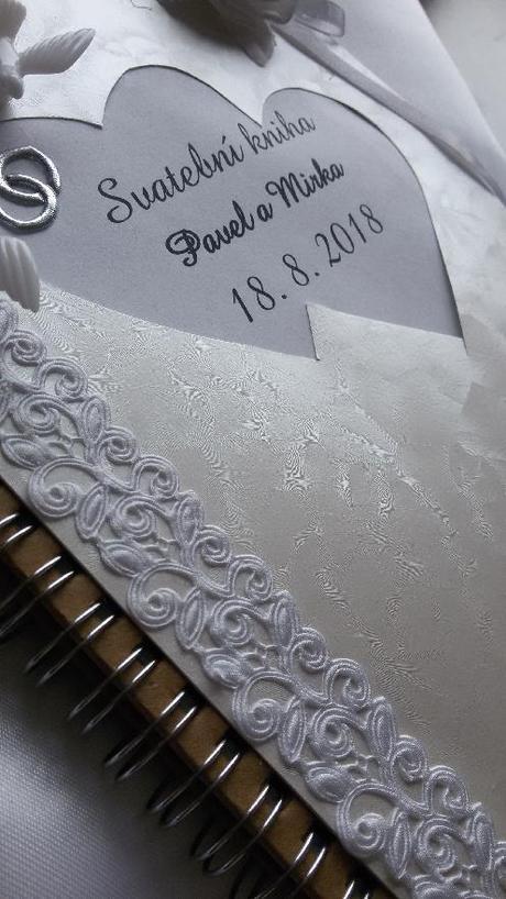 Svatební kniha - kniha hostů,