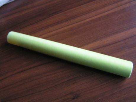 Světle zelený dekorační vlizelín,