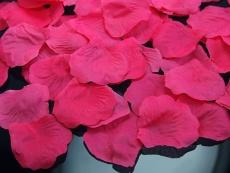 Dekoračné lupene 100ks - rôzne farby,