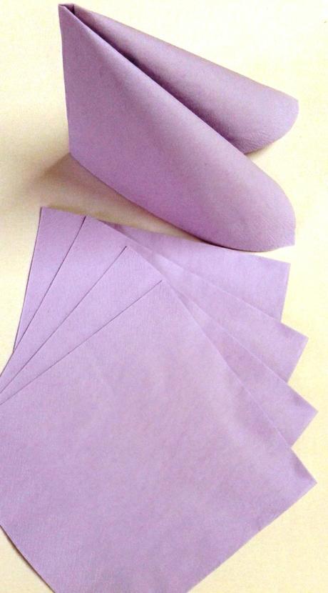 Jednofarebné servítky 33x33,