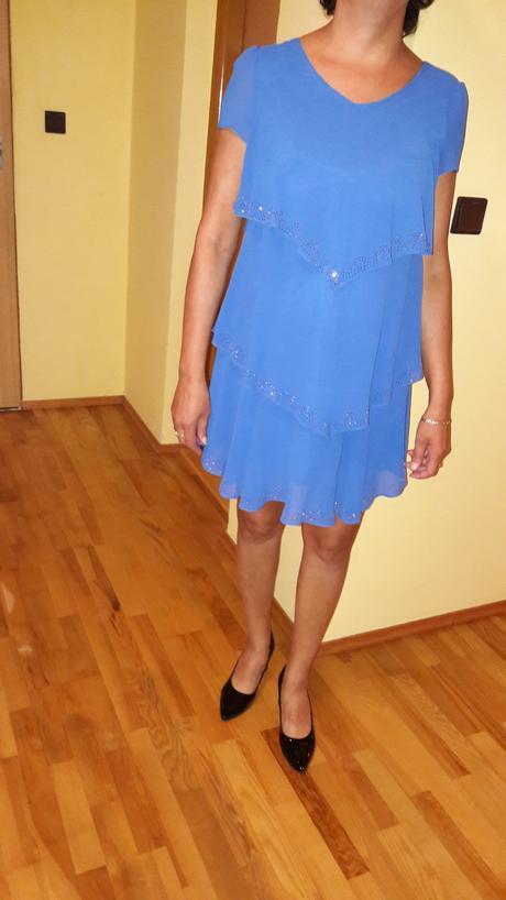 malé spoločenské šaty XL, 38