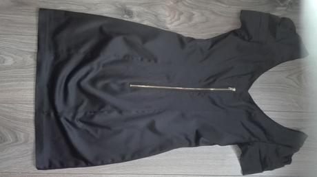 Čierne mini šaty 34, 34