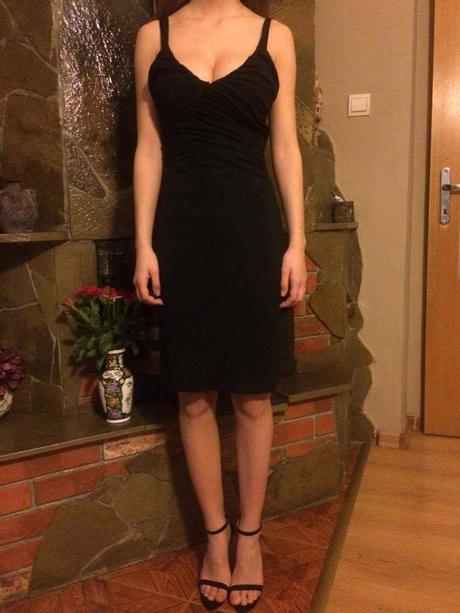 Čierne šaty zn.Kookai 36, 36