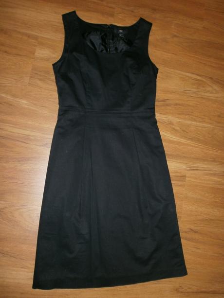 čierne univerzálne šaty, 36