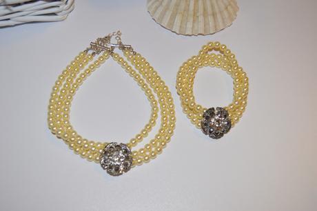 Sada náhrdelník+náramek,