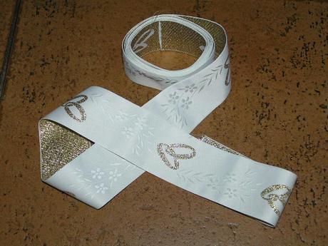 Svatební stuha ,
