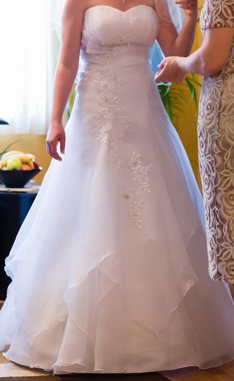 svadobné šaty Loretta, 38