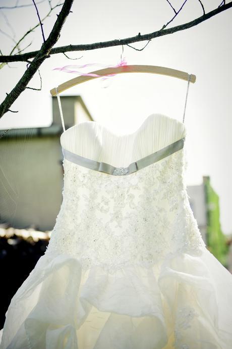 Diamantově bílé princeznovské svatební šaty vel.38, 38