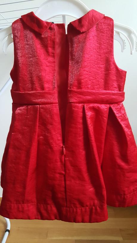 Červené šaty Holly&Whyte vel 68, 68