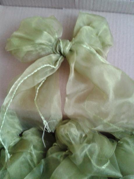 Zelene organzove masle,