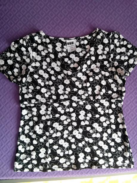 dámske vzorované tričko Next, L