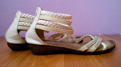 sandálky s kamienkami, 36
