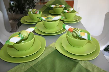 Zelena vlna v stolovani ,