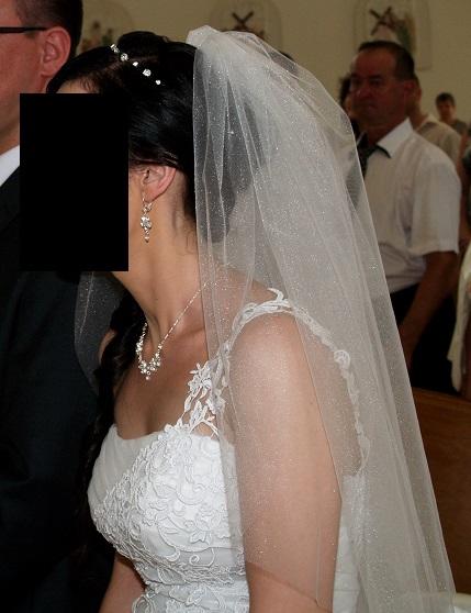 svadobná ozdoba do vlasov,