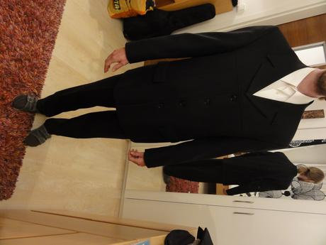 černý oblek By Luca 48, 48