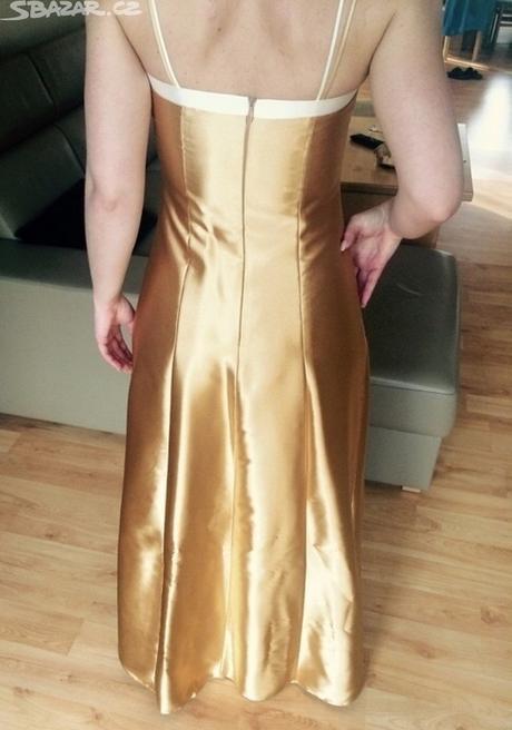 Luxusní společenské/plesové šaty s bolérkem , S