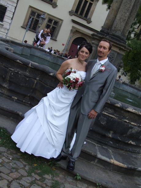 Svatební šaty Pronovias vel. 38, 38