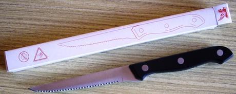 2 nože,