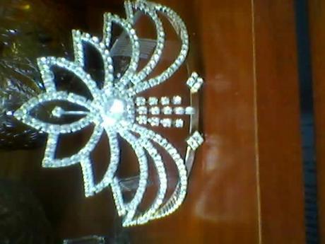 svadobná korunka ako pre princeznu,