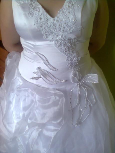 svadobné šaty veľ. 46-48, 46