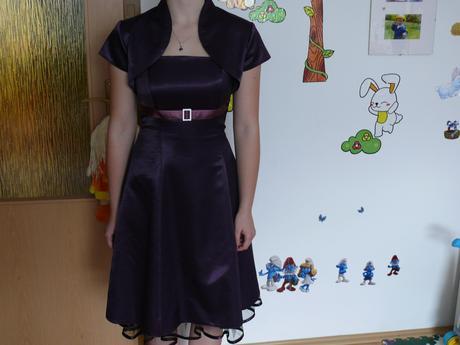 šaty z bolerkom, 36