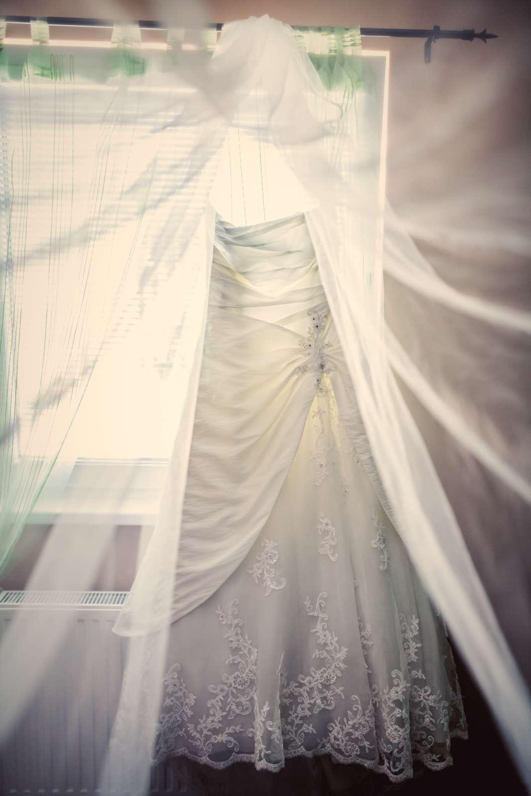 Ivory svatební šaty 9bcaaac700