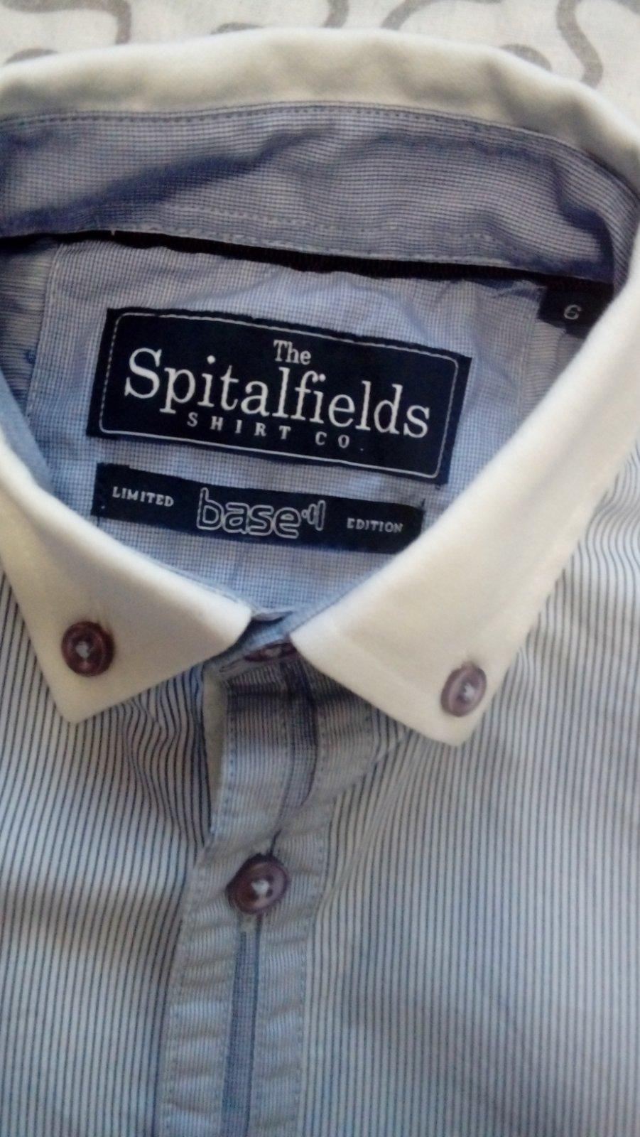 b1f5539ccda5 Značková košela spitalfields